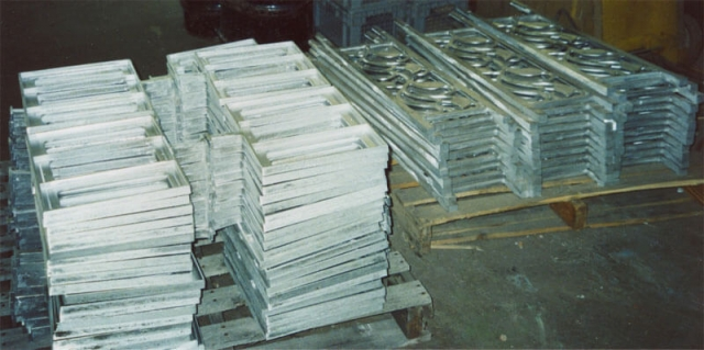 Ornamental aluminum castings by K Castings, Inc