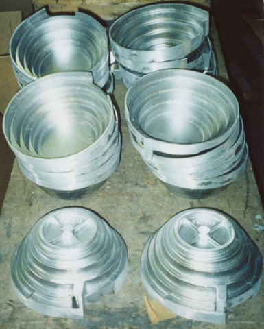 Parts Sorters aluminum castings by K Castings, Inc