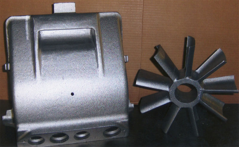 Railroad, Nuclear, and Housings aluminum castings by K Castings, Inc