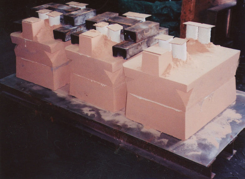 Resin Bond Precision Cast Process aluminum castings by K Castings, Inc