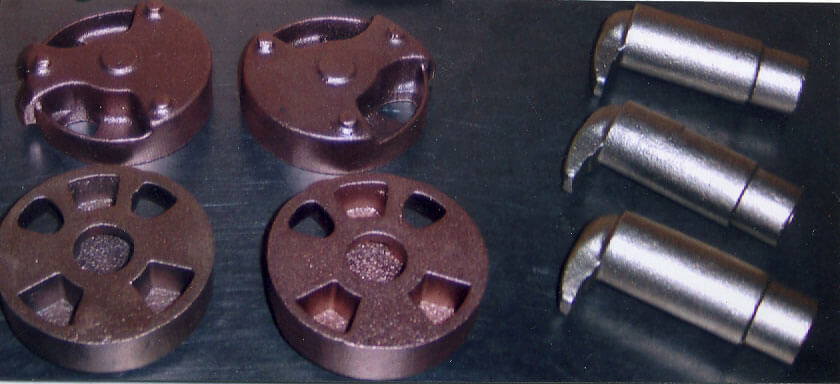 Valve Parts brass and bronze castings by K Castings, Inc.