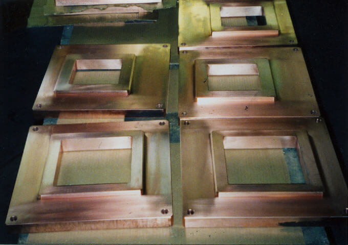 Furnace Covers (Pure Copper) copper castings by K Castings, Inc.