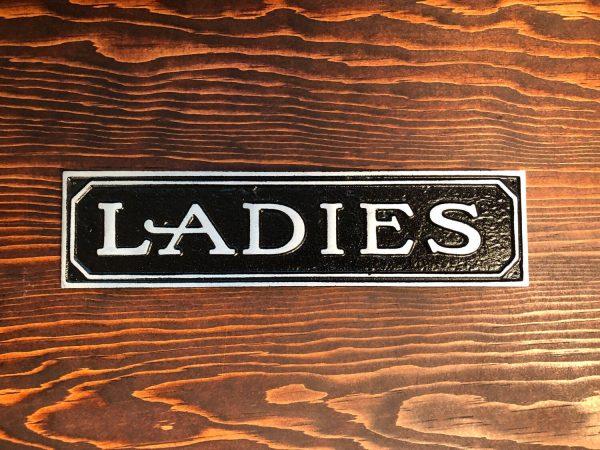 Ladies Door Sign