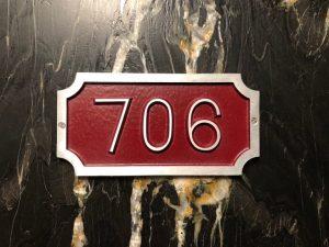 William Address Plaque
