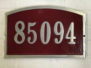 Large Arch Address Plaque